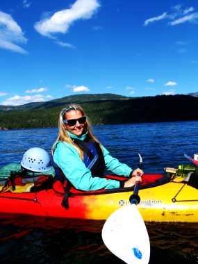 Backcountry kayaking trip on Priest Lake