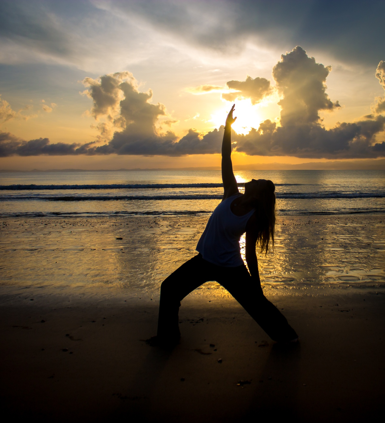 Yoga at Sunrise on the Costa Rica beaches.
