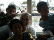 The orphans I worked with in Mexico.