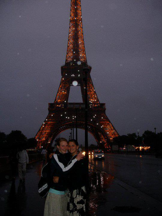 Eiffel Tower in Paris. <3