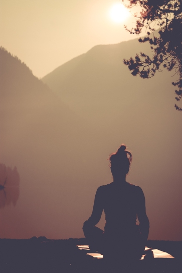 Learn to meditate - learned at the most beautiful place