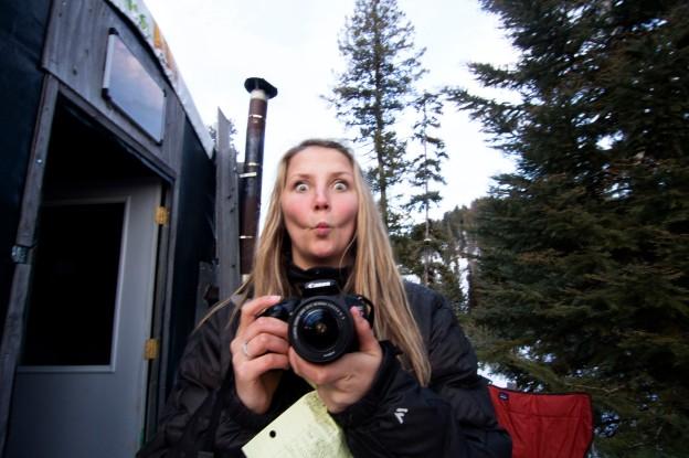 Create a snowboard video: Backcountry Hut Trip in McCall Idaho.