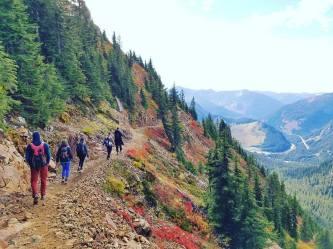 hiking w friends